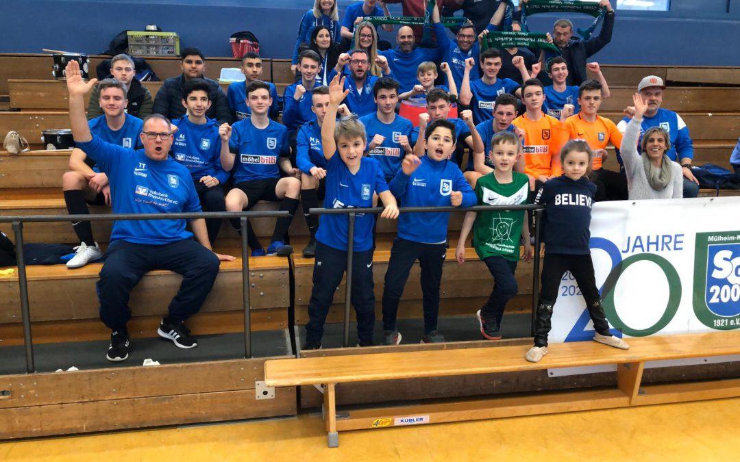 U17 erreicht 4. Platz bei Futsal-Regionalmeisterschaft Südwest